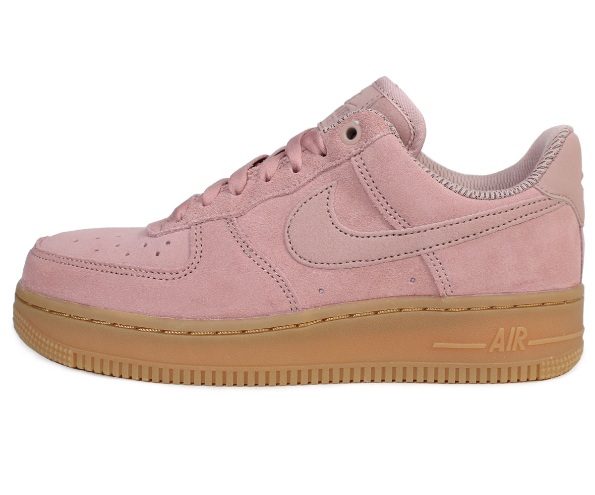 NIKE Nike air force 1 07 lady's sneakers WMNS AIR FORCE 1 SE AA0287 600 shoes pink