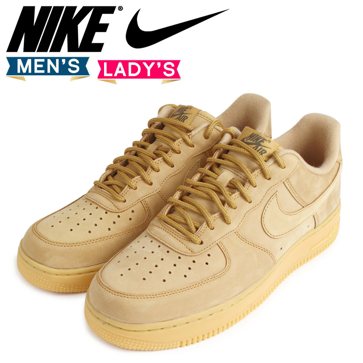 premium selection d7fd2 e20f3 NIKE Nike air force 1 sneakers AIR FORCE 1 WB AA4061-200 men gap Dis shoes  brown