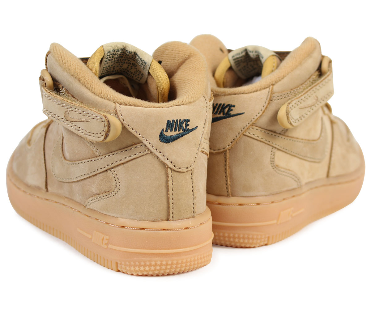 differently 5026a 4551e NIKE Nike air force 1 mid baby sneakers AIR FORCE 1 WB TD AH0757-203 shoes  brown