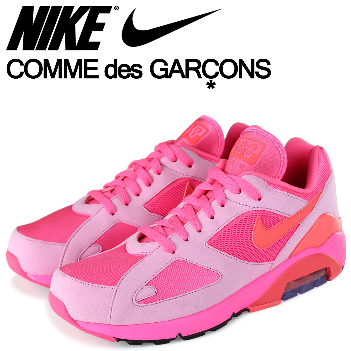 half off 4833c d7de7  brand NIKE getting high popularity from sneakers freak . The moment of the  topic that COMME des GARCONS HOMME PLUS performed collaboration of running  shoes ...