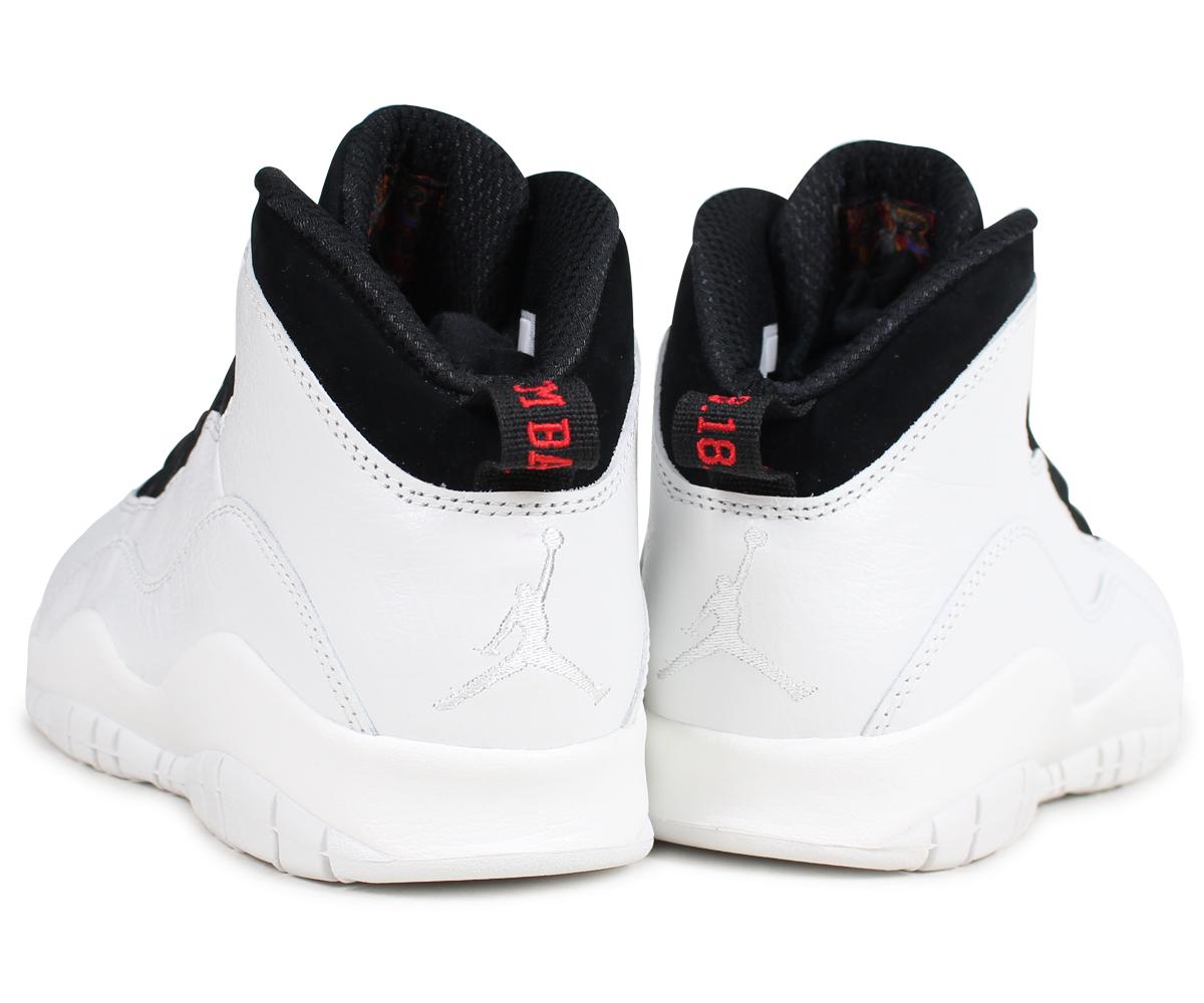 best website a4a9e 4bab7 NIKE Nike Air Jordan 10 nostalgic sneakers men AIR JORDAN 10 RETRO I'M BACK  310,805-104 white white