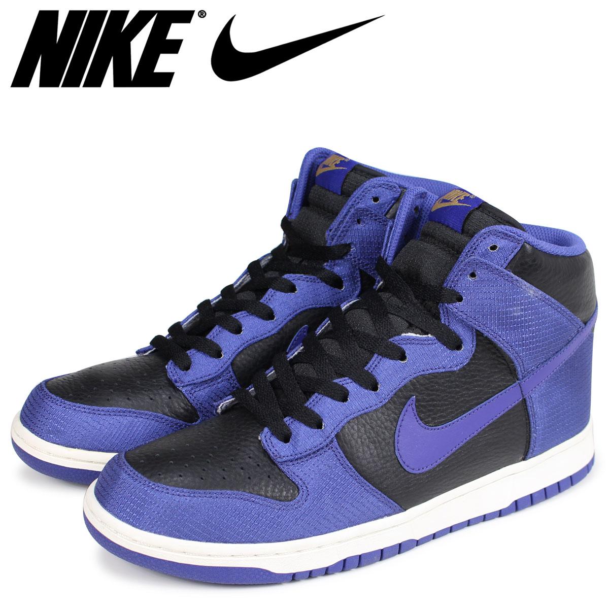 size 40 37aa7 d7b3d NIKE Nike dunk high sneakers men DUNK HIGH 317,982-008 black 616 Shinnyu  load