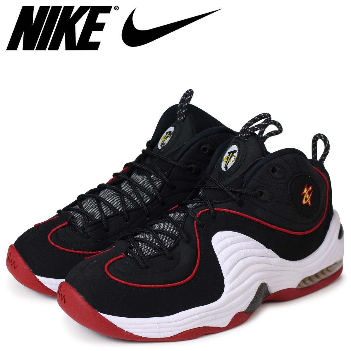 NIKE ナイキ エアペニー スニーカー AIR PENNY 2 マイアミヒート 333886-002 メンズ 靴 ブラック 【決算セール 返品不可】