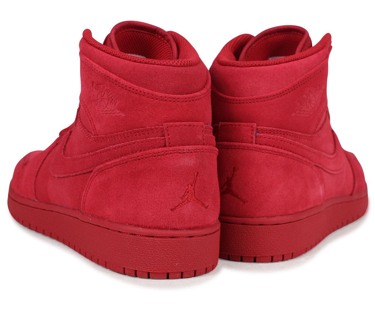 pretty nice b2fb4 cf84f NIKE Nike Air Jordan 1 nostalgic Haile Dis sneakers AIR JORDAN 1 RETRO HIGH  BG 705,300-603 red red