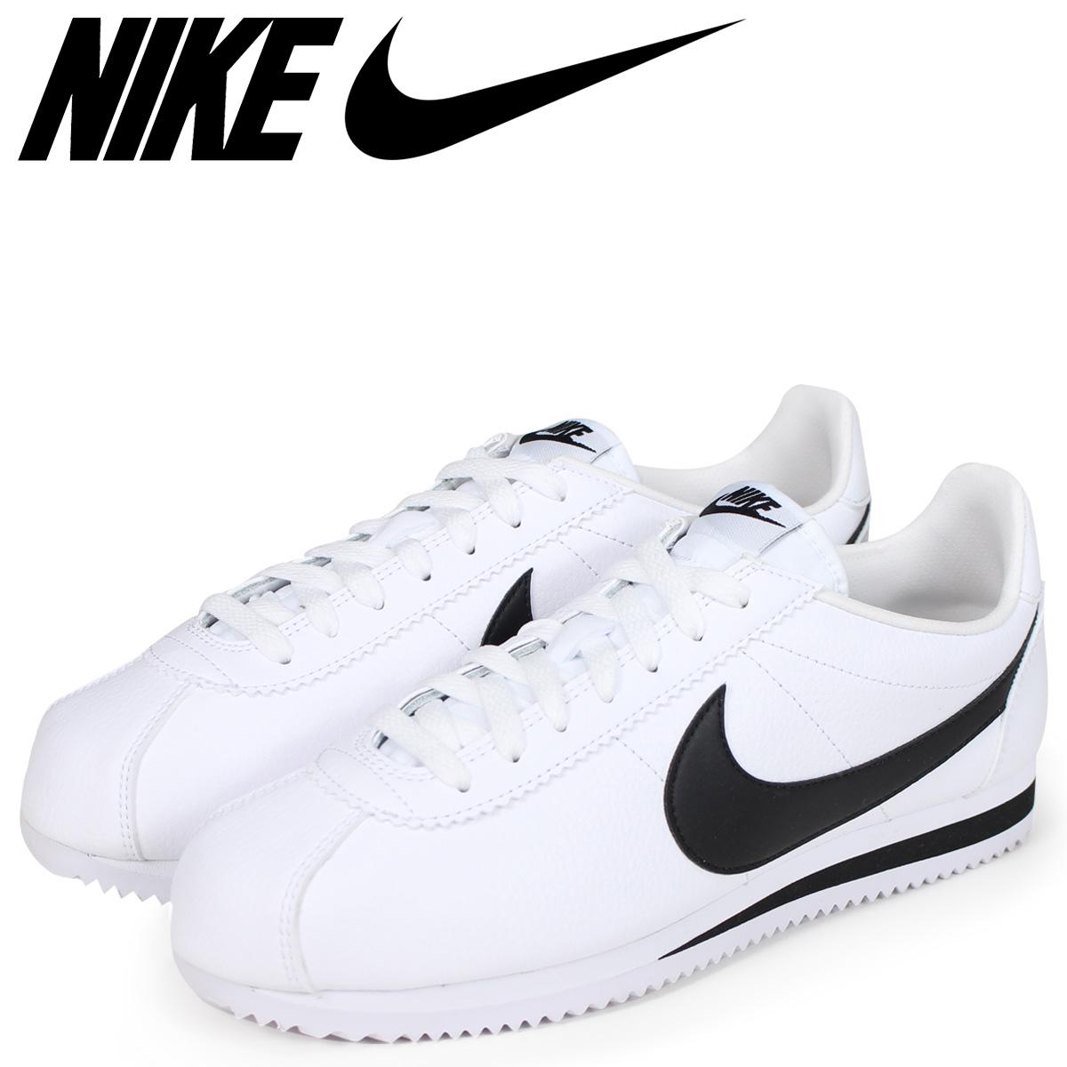 NIKE ナイキ コルテッツ スニーカー CLASSIC CORTEZ LEATHER 749571-100 メンズ 靴 ホワイト 【決算セール 返品不可】