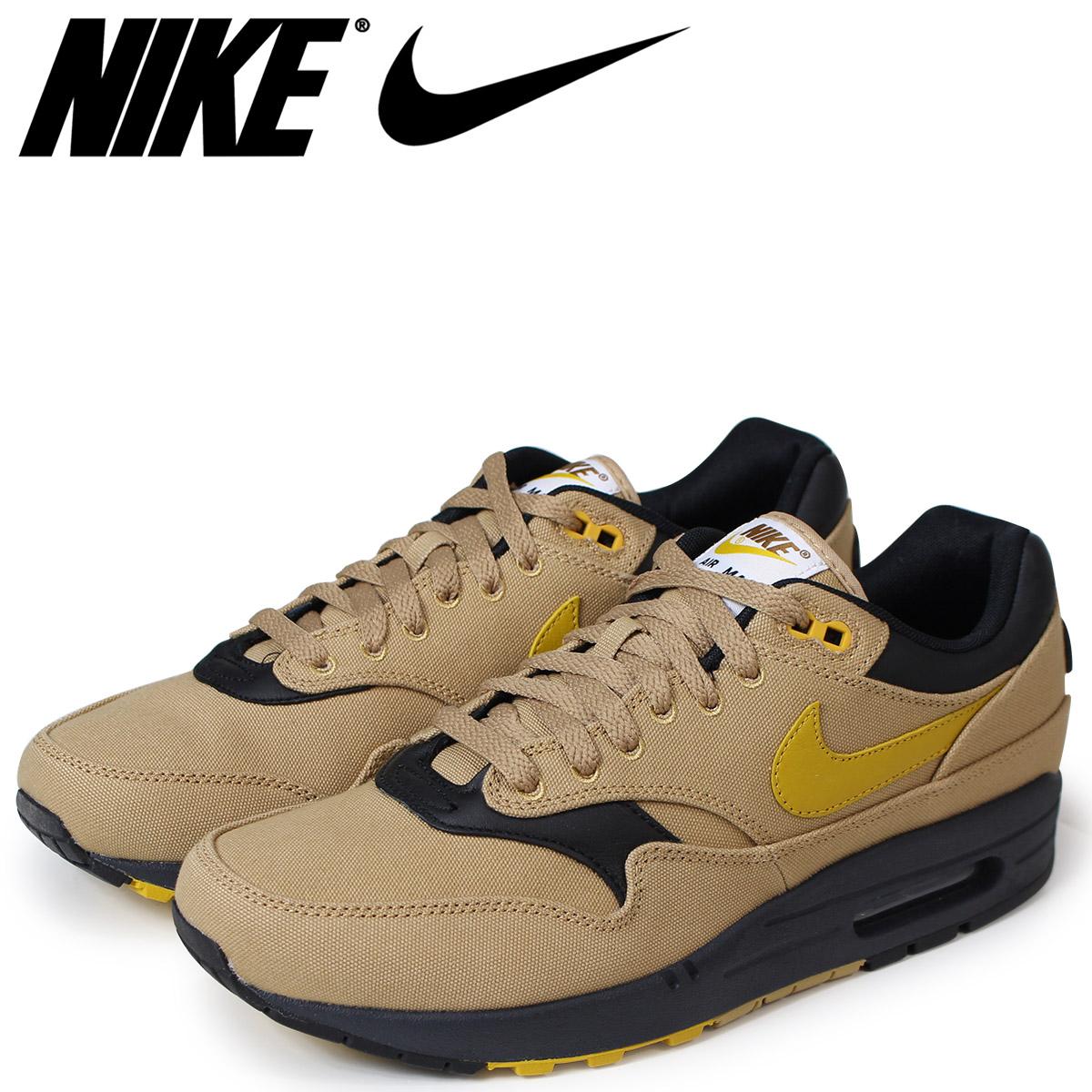 d86a472df1 Sugar Online Shop: NIKE Kie Ney AMAX 1 premium sneakers men AIR MAX 1  PREMIUM 875,844-700 beige [load planned Shinnyu load in reservation product  5/18 ...