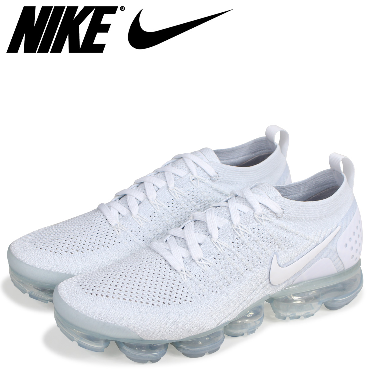 842 Vapormax Men White Max Vapor Nike Flyknit 100 Air Sneakers Fried Food 942 Knit 2 mwvN8nO0