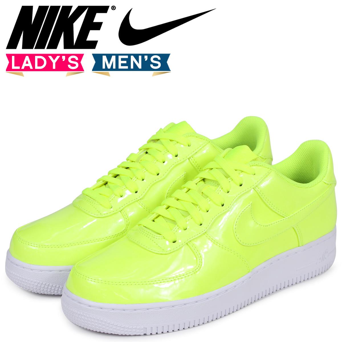 NIKE Nike air force 1 07 LV8 sneakers men gap Dis AIR FORCE 1 UV AJ9505 700 yellow [210 reentry load]