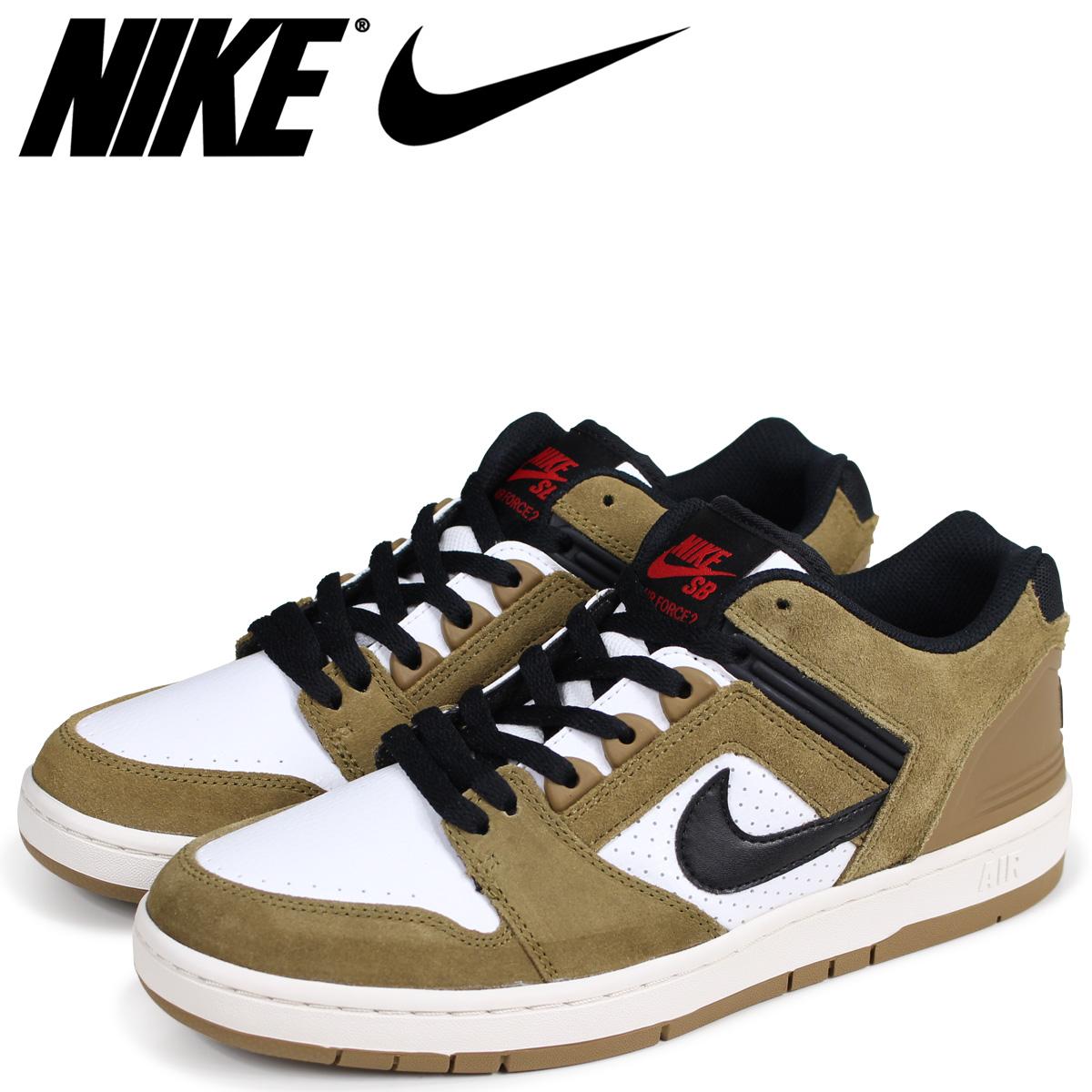 NIKE Nike SB air force 2 sneakers men AIR FORCE 2 LOW ESCAPE AO0300 300 brown