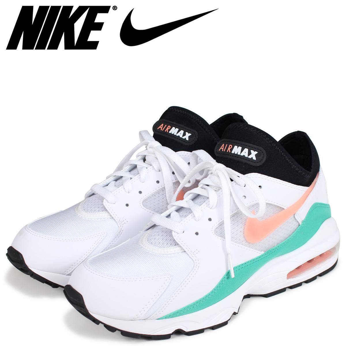 63cd21d070 NIKE Kie Ney AMAX 93 sneakers men AIR MAX 93 WATERMELON 306,551-105 white  ...