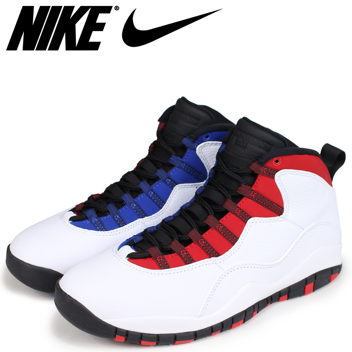 NIKE Nike Air Jordan 10 nostalgic sneakers men AIR JORDAN 10 RETRO RUSSELL  WESTBROOK 310,805-160 white white
