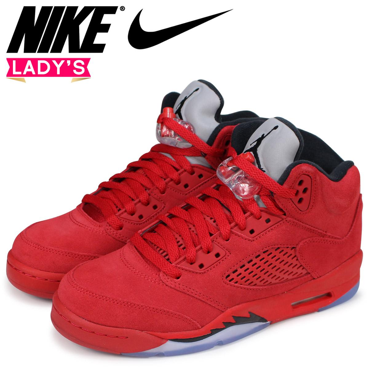 NIKE Nike Air Jordan 5 nostalgic lady s sneakers AIR JORDAN 5 RETRO BG  440 d2e29c2e5