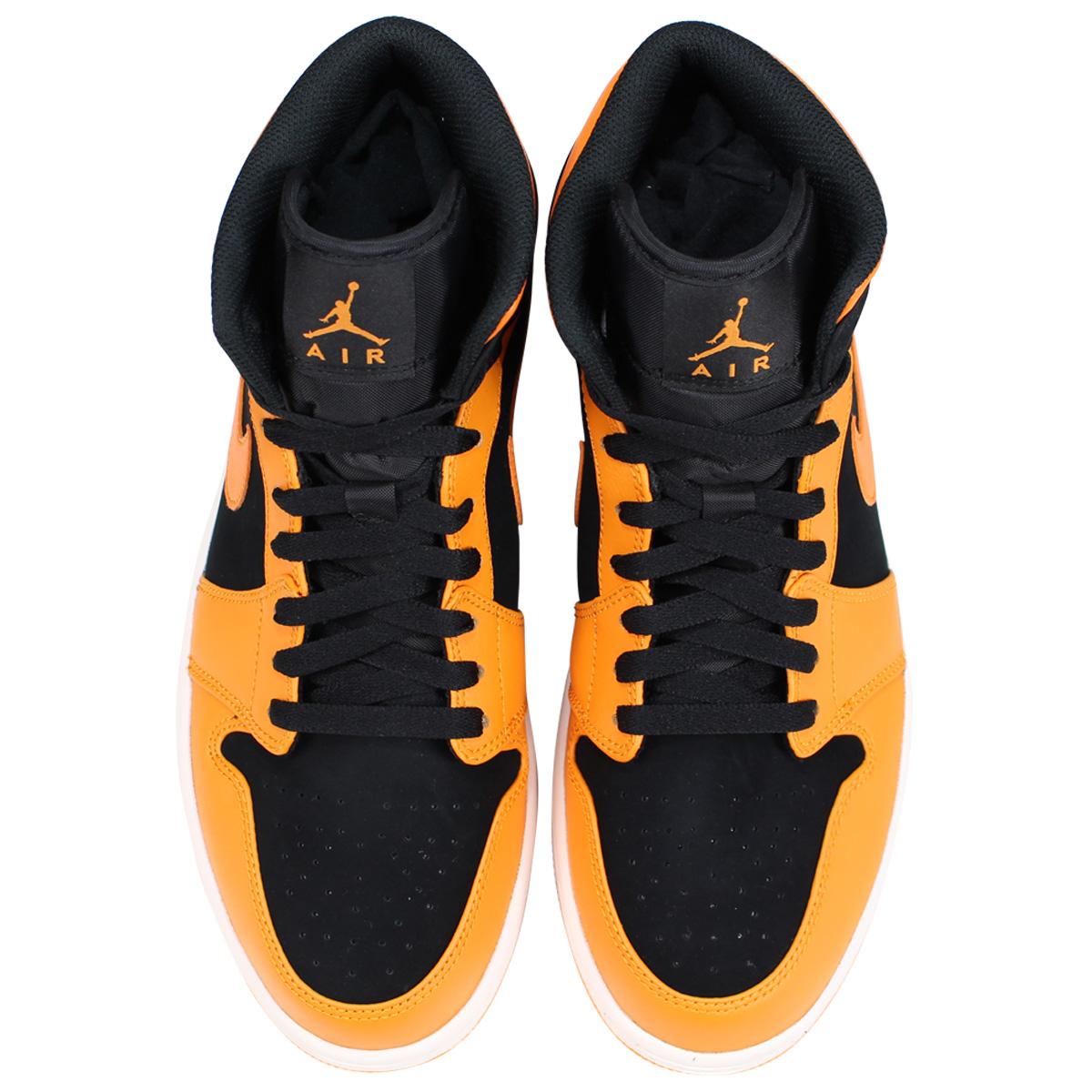 new product 48cb7 1ab76 NIKE Nike Air Jordan 1 sneakers men AIR JORDAN 1 MID 554,724-081 orange   load planned Shinnyu load in reservation product 8 3 containing