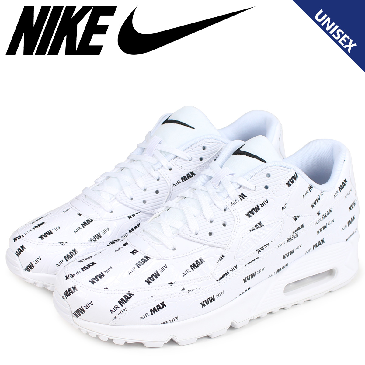 Nike Air Max 90 Premium Men's White White 700155 101