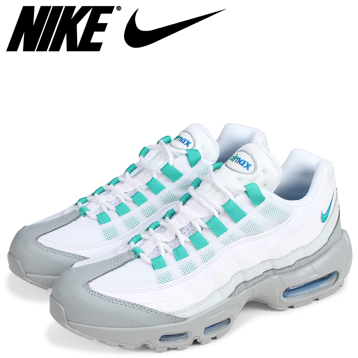 lowest price 05179 6ff57 NIKE Kie Ney AMAX 95 essential sneakers men AIR MAX 95 ESSENTIAL  749,766-032 light ...