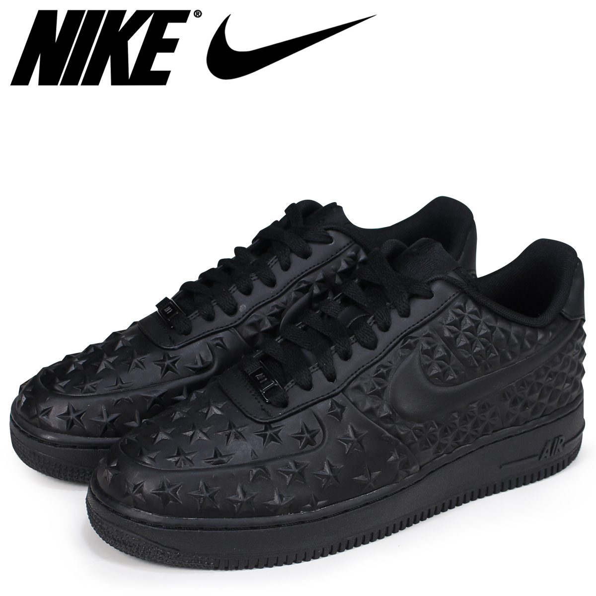 best sneakers d23ff 5b172 NIKE Nike air force 1 07 LV8 sneakers men AIR FORCE 1 LOW INDEPENDENCE DAY  789,104-001 black  load planned Shinnyu load in reservation product 6 29 ...