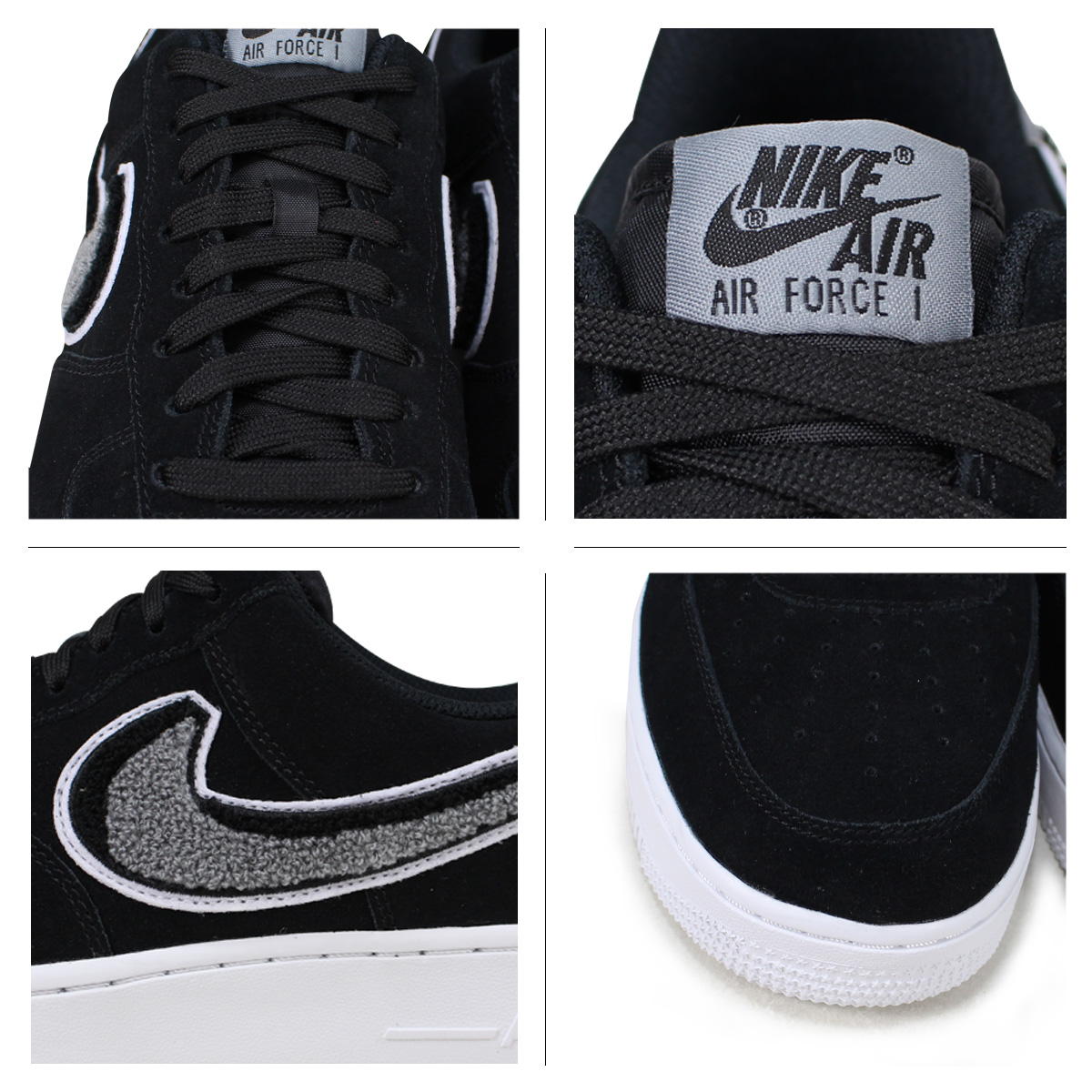 reputable site 451c5 a801f NIKE Nike air force 1 sneakers men AIR FORCE 1 07 LV8 823,511-014 black   load planned Shinnyu load in reservation product 6 28 containing