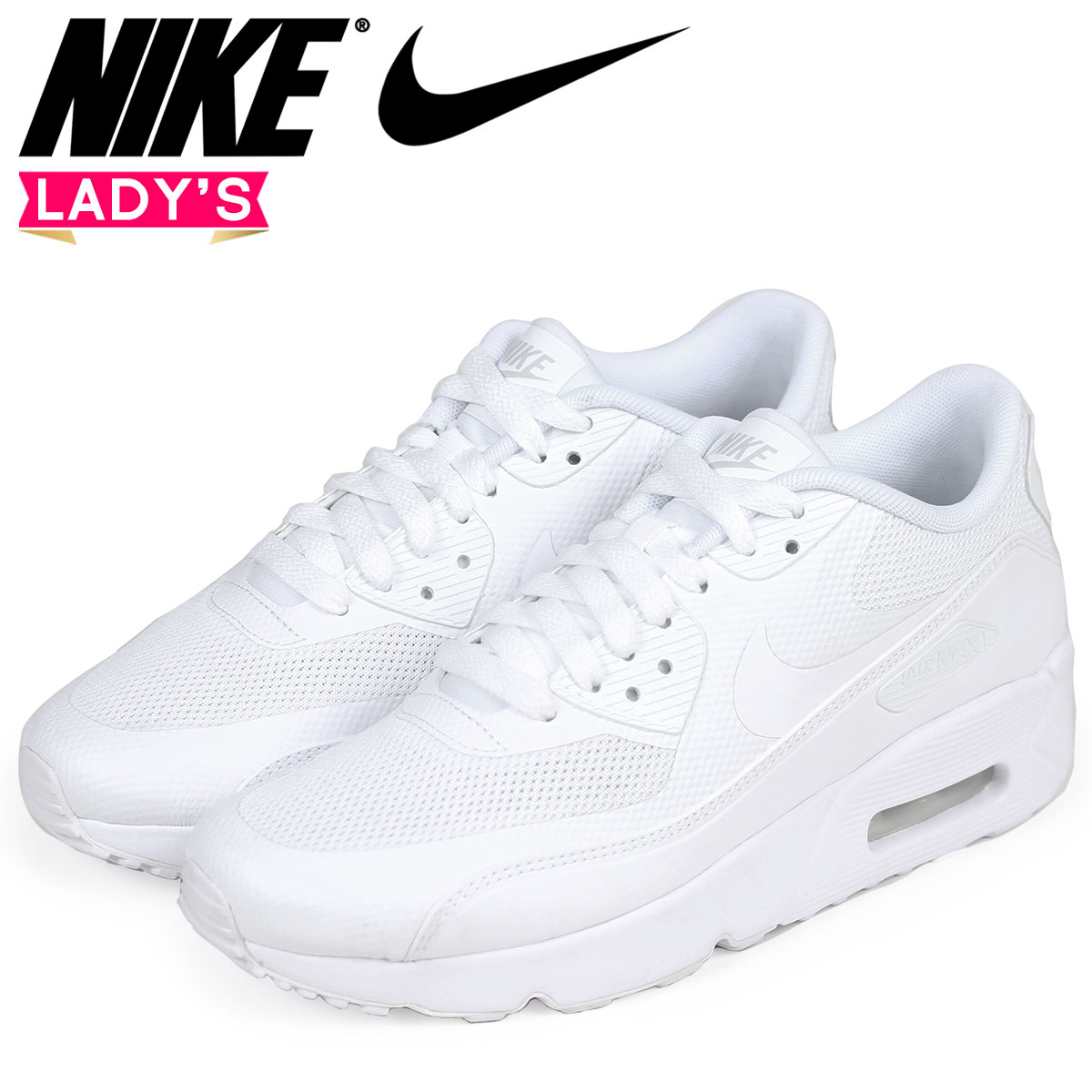 new style b9b6a 6128f Nike NIKE Air Max 90 ultra Lady s sneakers AIR MAX 90 ULTRA ESS 2.0 GS  869,950 ...