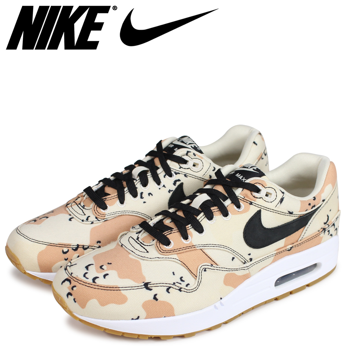 c23304bf60 NIKE Kie Ney AMAX 1 sneakers men AIR MAX 1 PREMIUM BEACH CAMO 875,844-204  ...