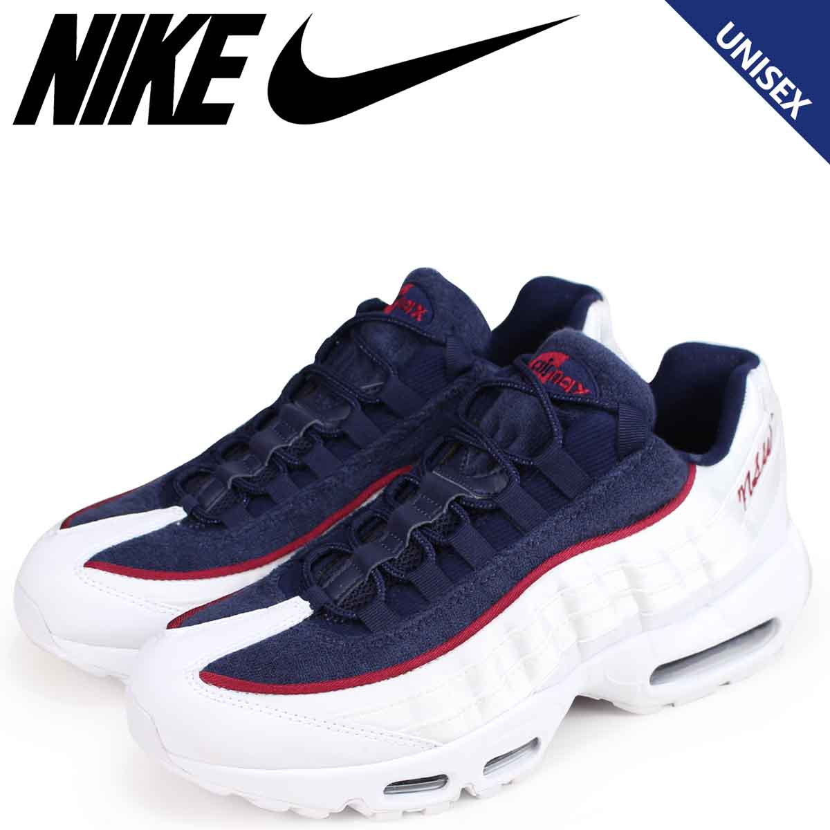 best website 8b7ff 82192 NIKE Kie Ney AMAX 95 sneakers Lady's men WMNS AIR MAX 95 LX AA1103-100  white white