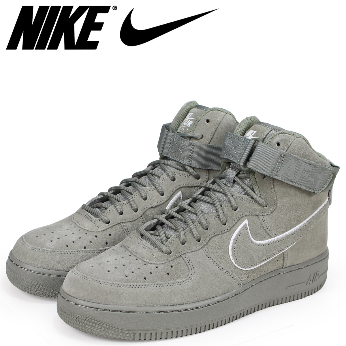NIKE Nike air force 1 high 07 LV8 sneakers men AIR FORCE 1 HIGH AA1118 002 green
