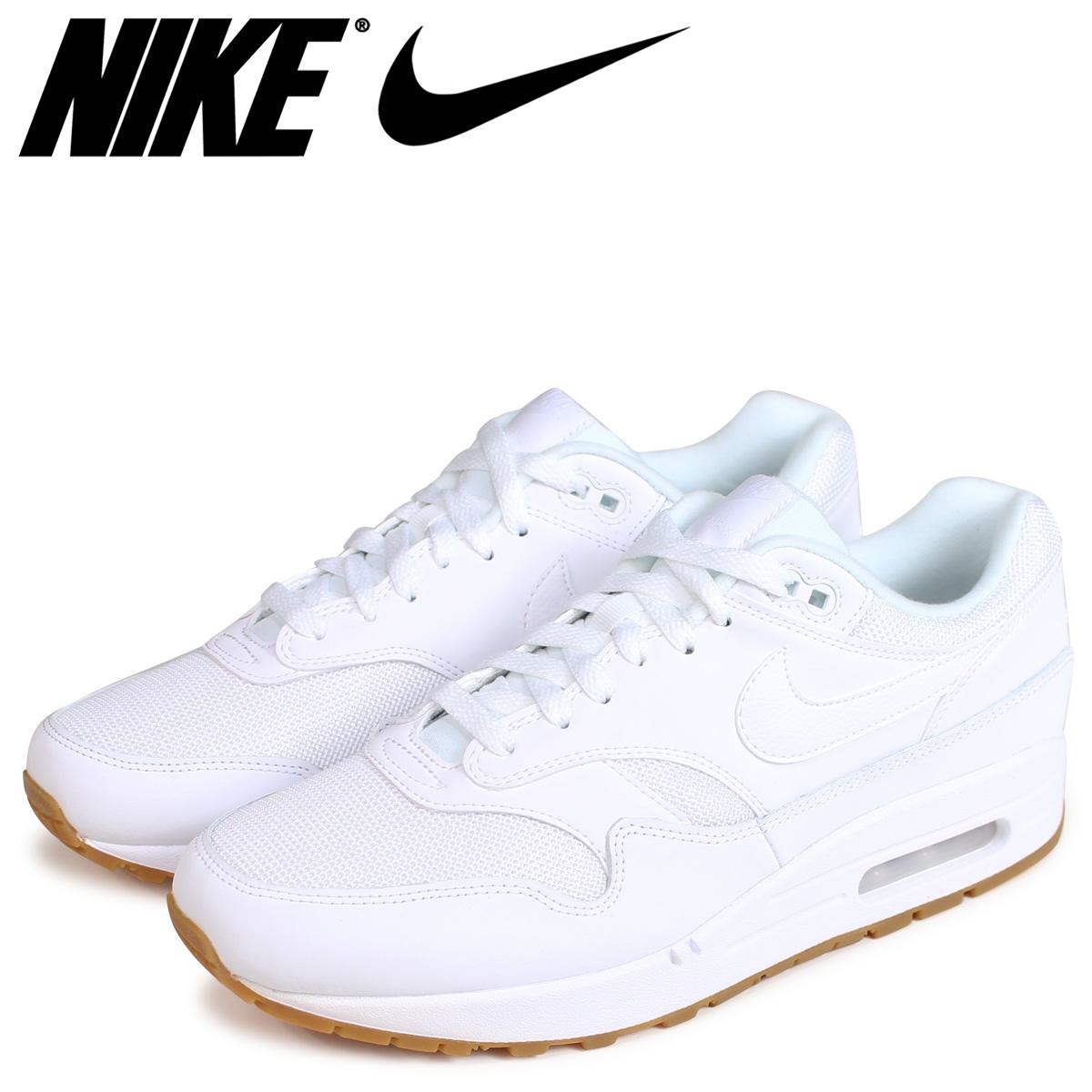 NIKE Kie Ney AMAX 1 sneakers men AIR MAX 1 AH8145 109 white white