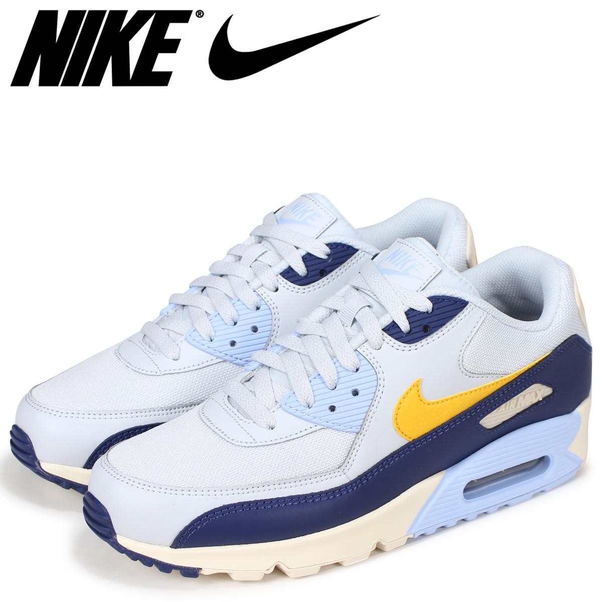NIKE Kie Ney AMAX 90 essential sneakers men AIR MAX 90 ESSENTIAL AJ1285 008 blue