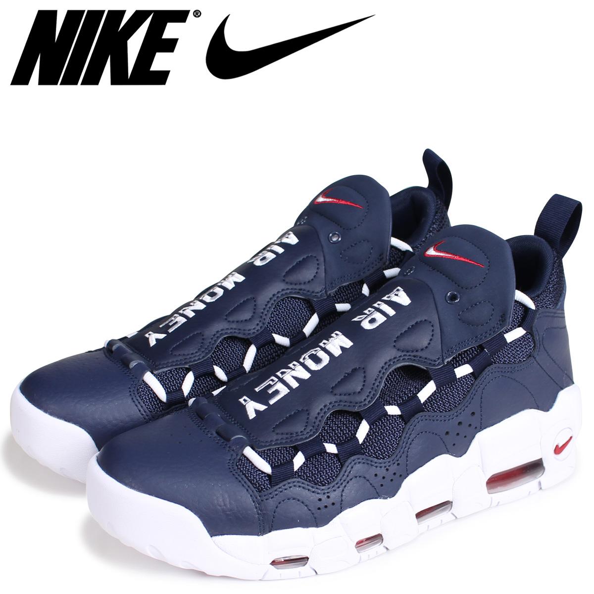 Nike Men's Air More Money Navy Blue Sneaker