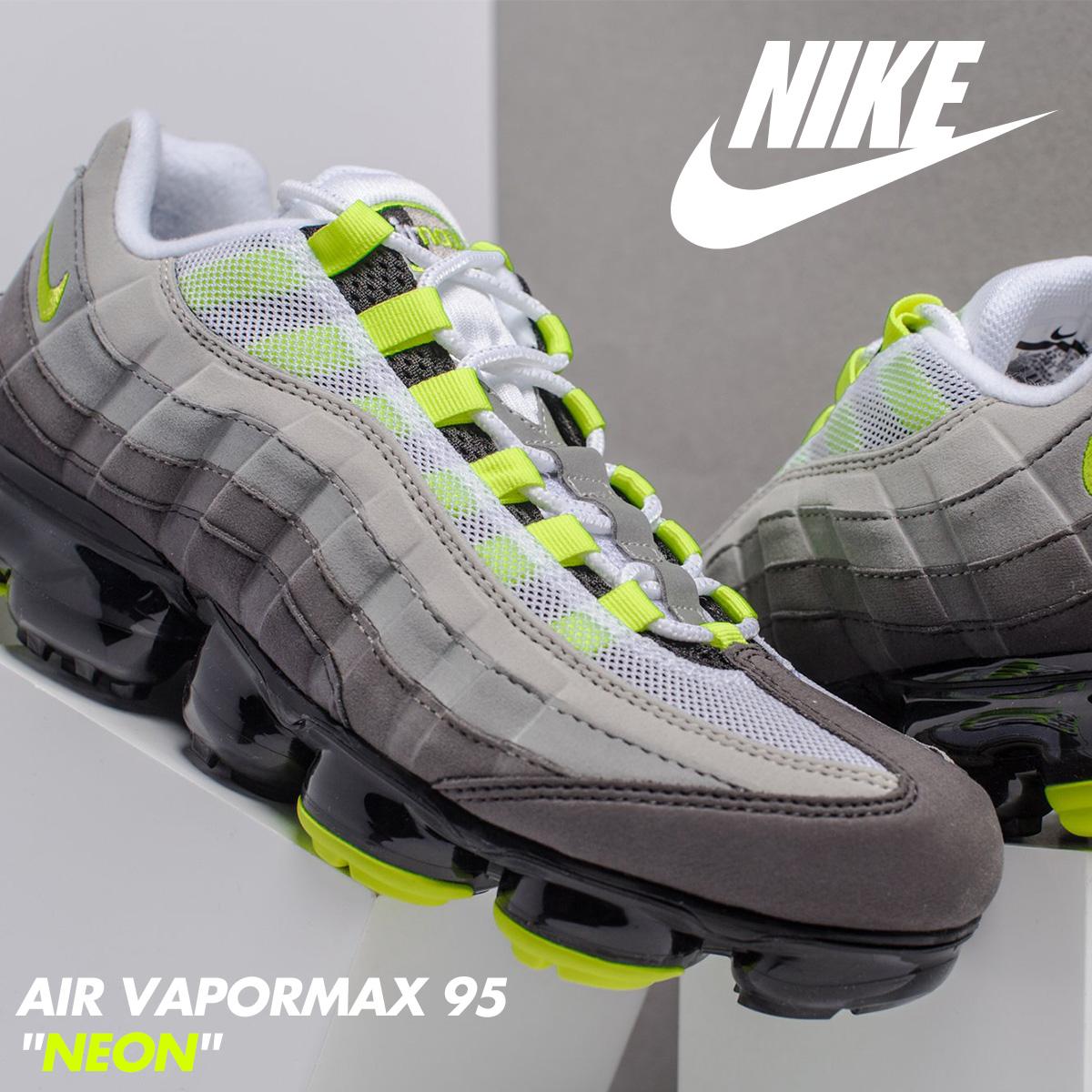 save off e4e1e 3fb31 NIKE Nike air vapor max 95 sneakers men AIR VAPORMAX 95 NEON AJ7292-001  neon yellow [the 9/6 additional arrival]