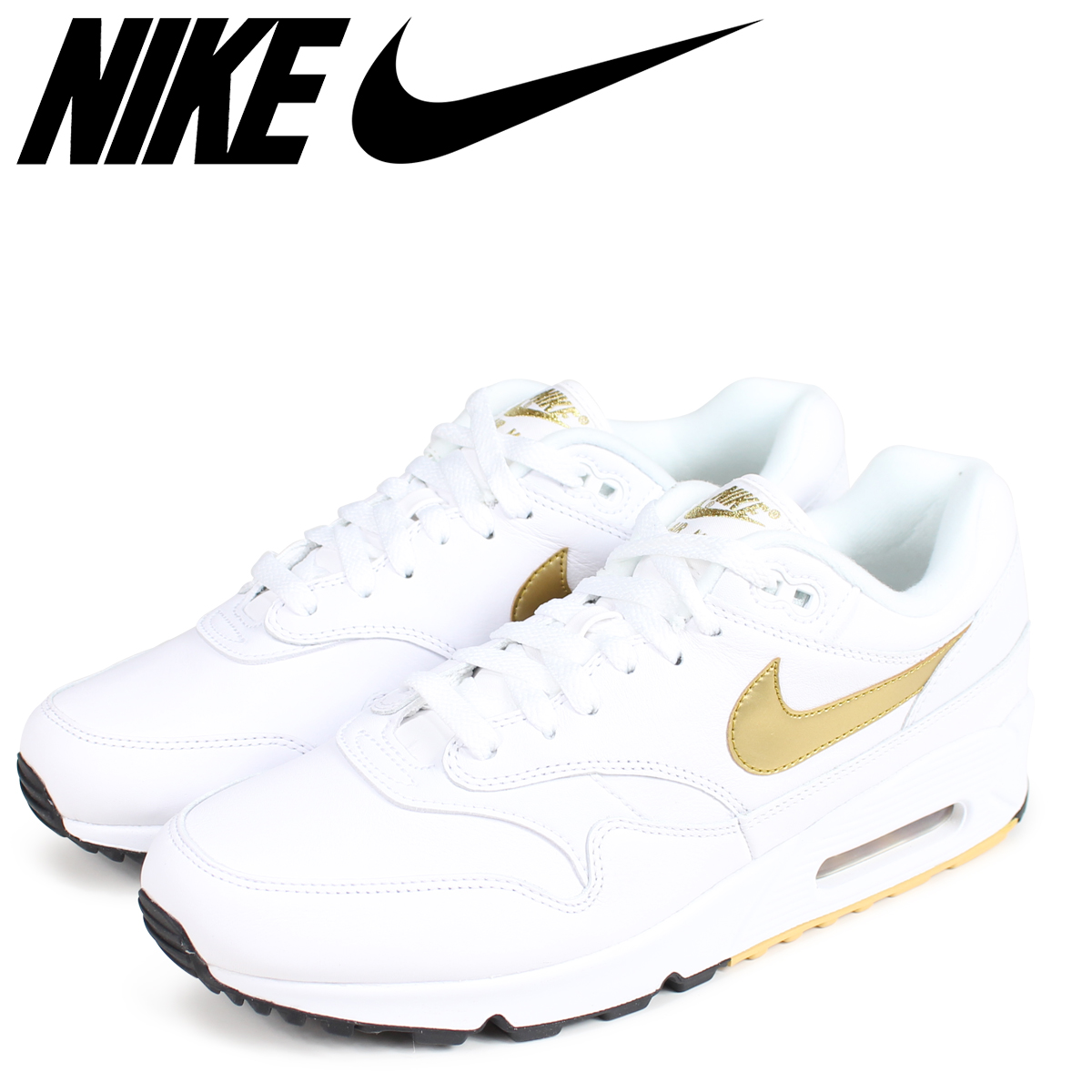 896acc5369c2e NIKE Kie Ney AMAX 90 1 sneakers men AIR MAX 90 1 AJ7695-102 white  load  planned Shinnyu load in reservation product 9 11 containing