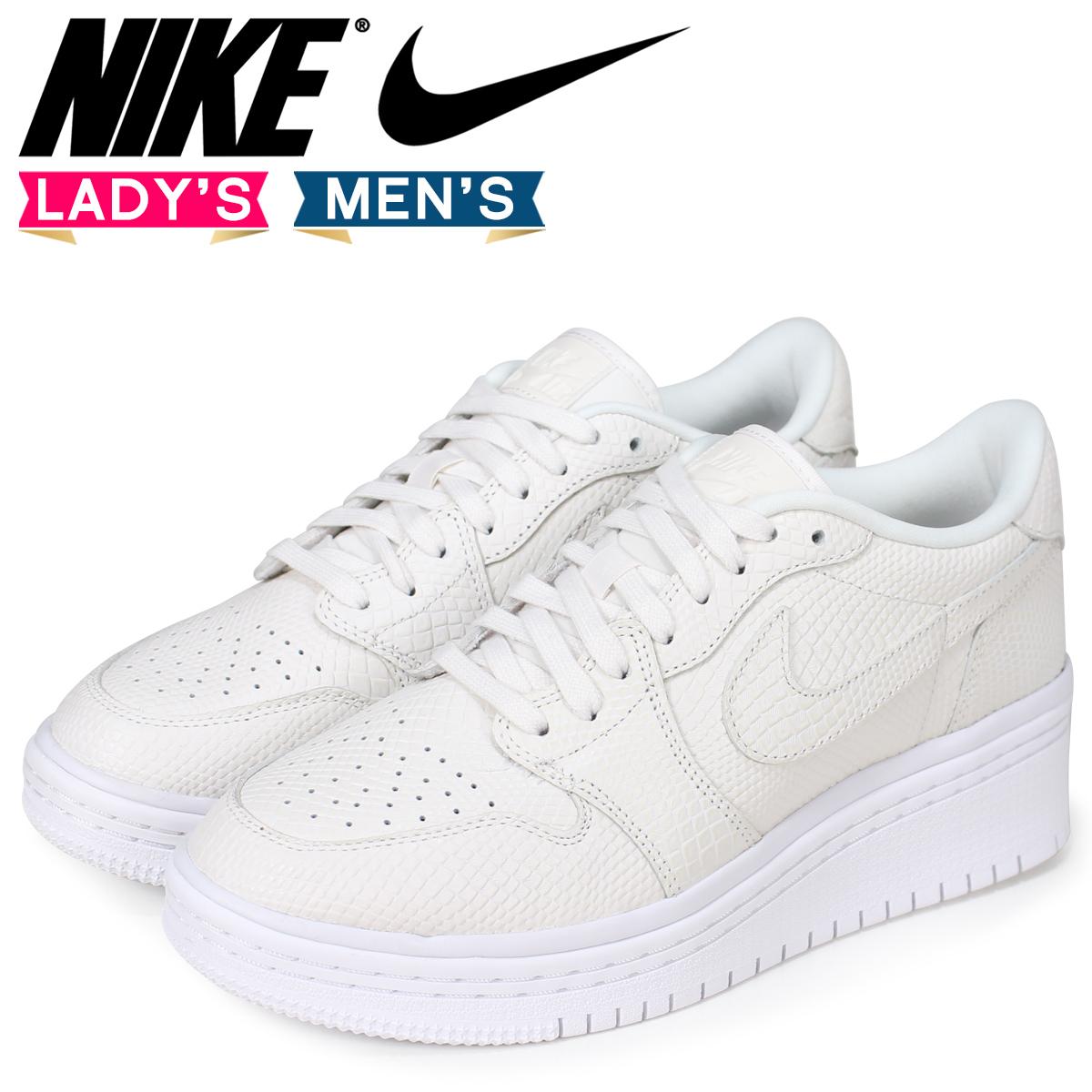0c244330256 NIKE Nike Air Jordan 1 lady s men s sneakers WMNS AIR JORDAN 1 RE LOW LIFTD  AO1334-004 off-white  load planned Shinnyu load in reservation product 7 13  ...