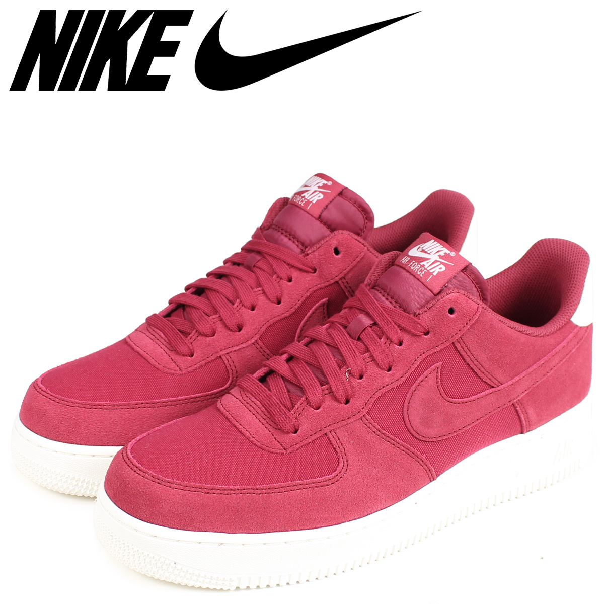 NIKE Nike air force 1 sneakers men AIR FORCE 1 07 SUEDE AO3835 600 red red