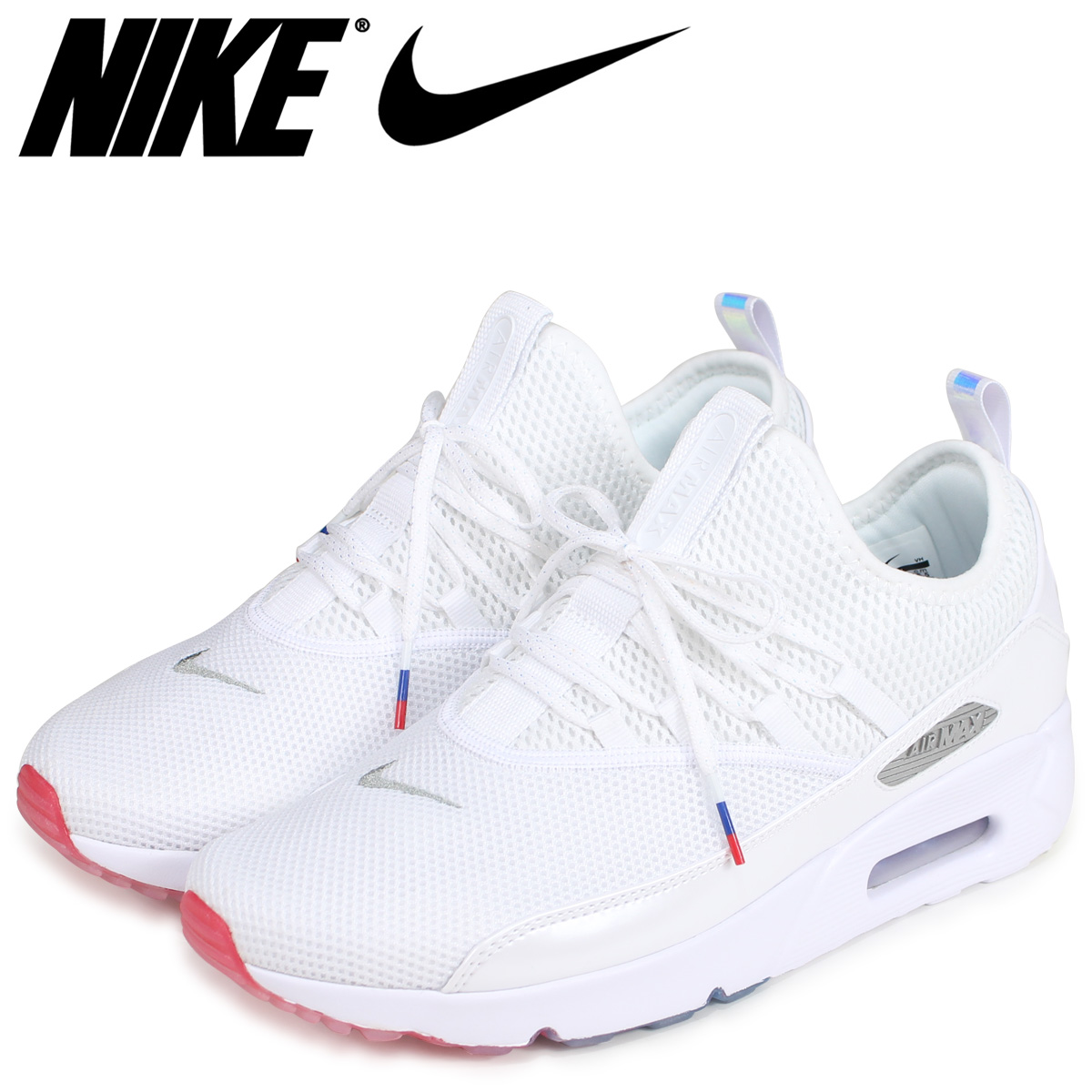 size 40 49a84 b6c0e NIKE Kie Ney AMAX 90 sneakers men AIR MAX 90 EZ AQ7980-100 white  load  planned Shinnyu load in reservation product 7 19 containing