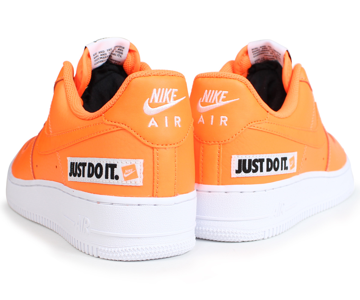 61adccdc5f12 NIKE Nike air force 1 sneakers men gap Dis AIR FORCE 1 07 LV8 JUST DO IT  LEATHER BQ5360-800 orange  load planned Shinnyu load in reservation product  7 24 ...