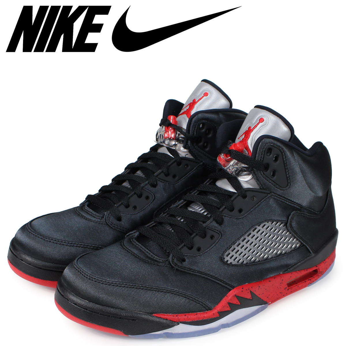 sports shoes 483d7 1d91d NIKE Nike Air Jordan 5 nostalgic sneakers men AIR JORDAN 5 RETRO black  black 136,027-006