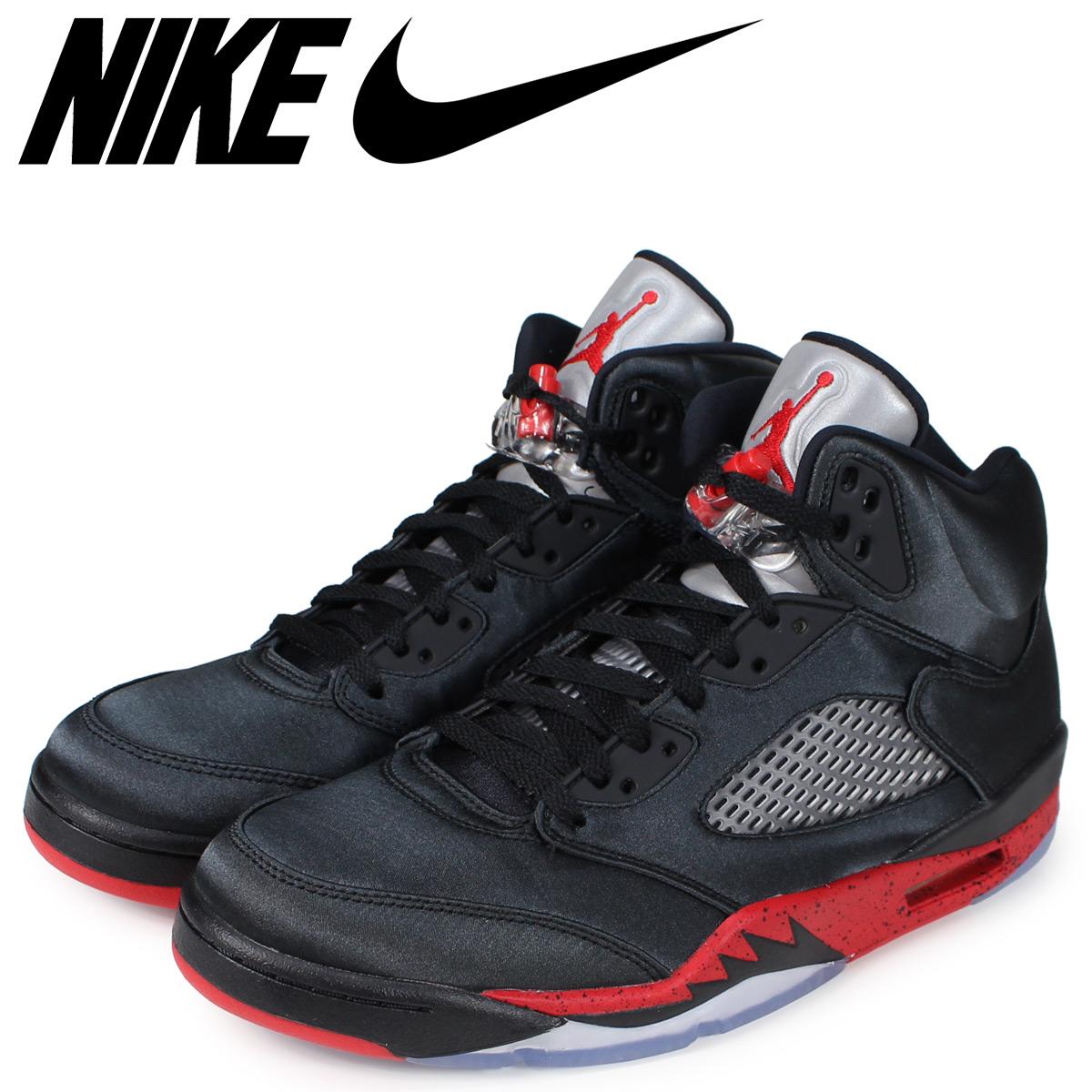 sports shoes 84947 f6c33 NIKE Nike Air Jordan 5 nostalgic sneakers men AIR JORDAN 5 RETRO black  black 136,027-006