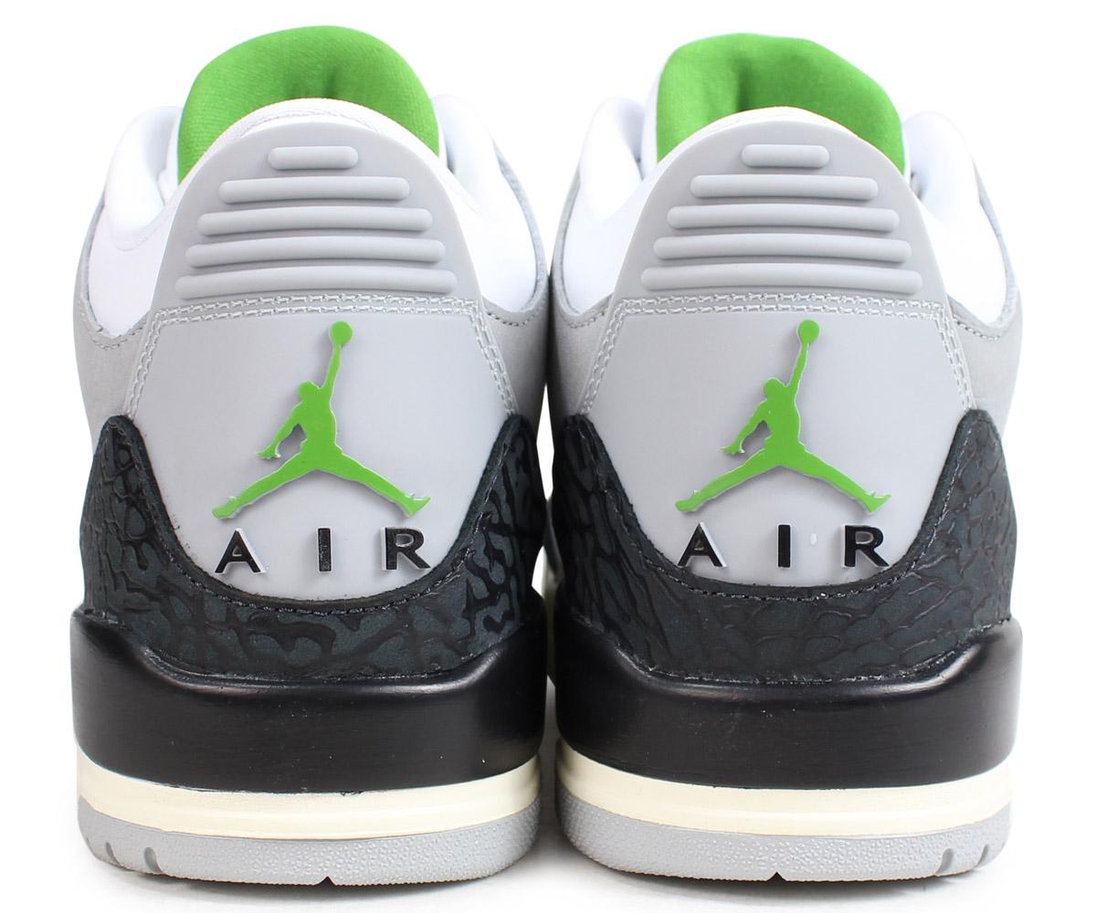 340380ce2900bb NIKE Nike Air Jordan 3 nostalgic sneakers men AIR JORDAN 3 RETRO gray  136