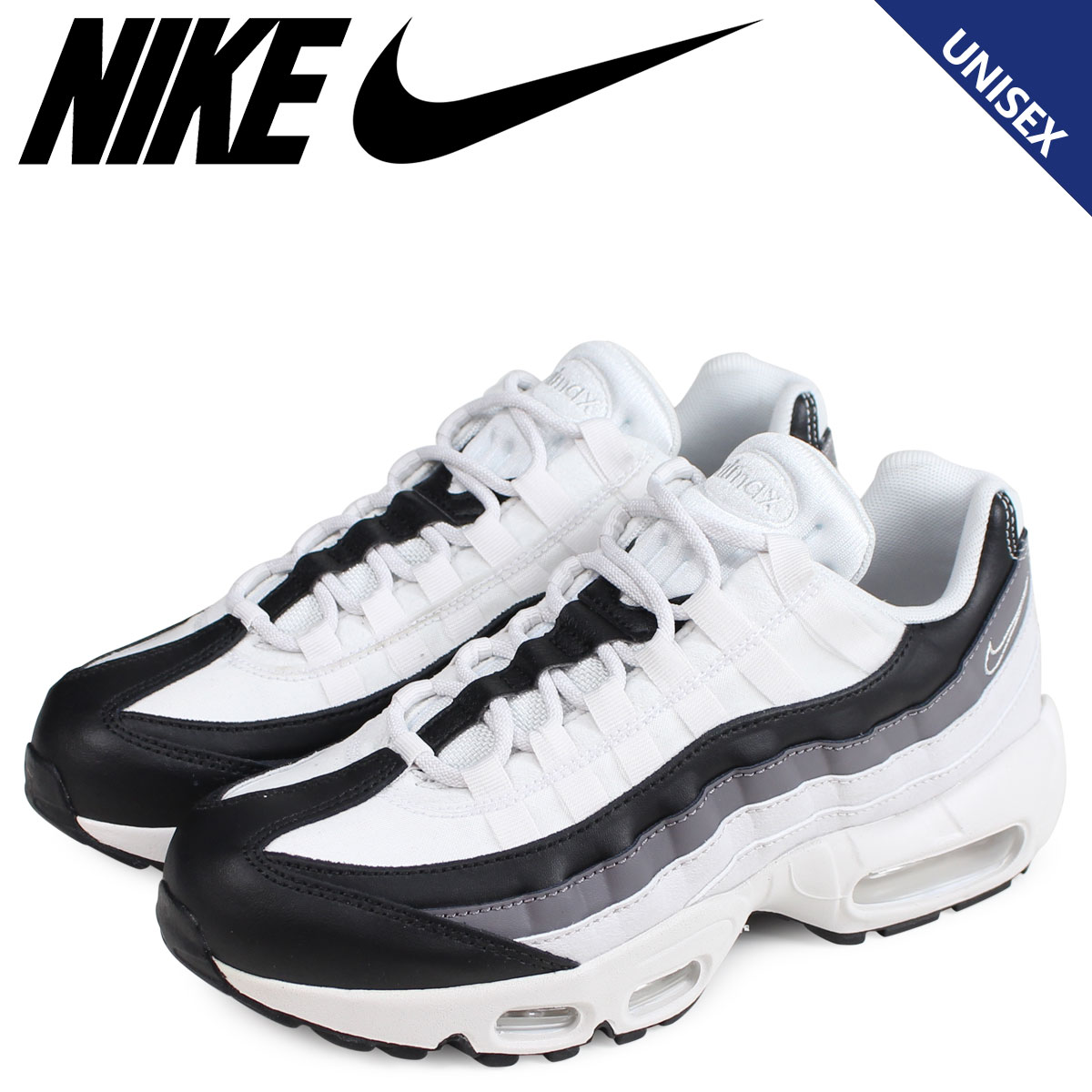 Nike NIKE Air Max 95 sneakers men gap Dis WMNS AIR MAX 95 white white 307,960 021