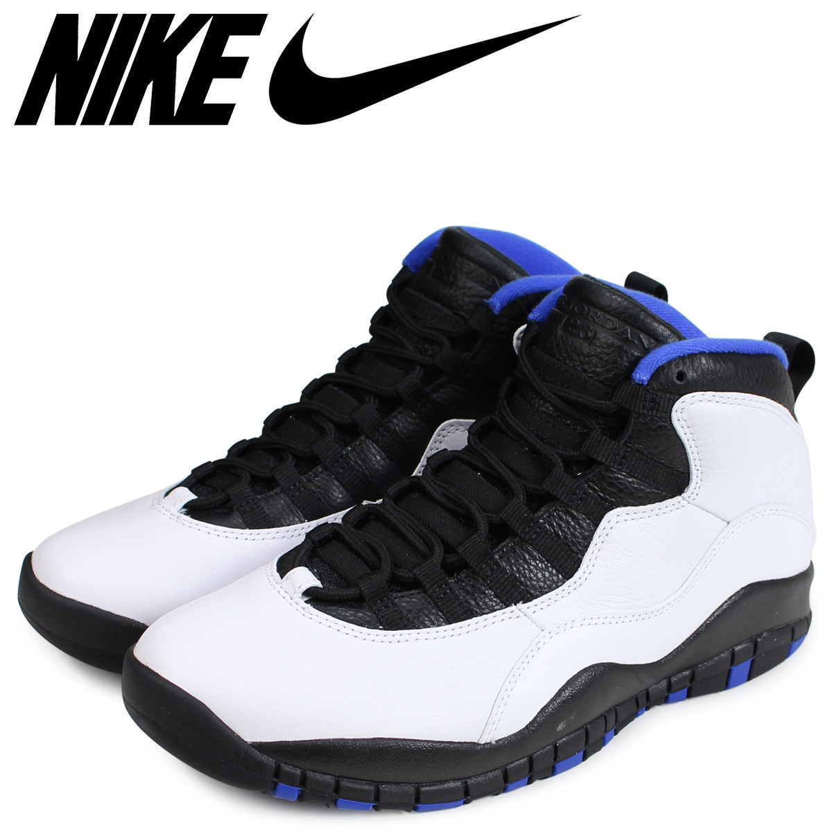 4ae60473a62cf2 NIKE Nike Air Jordan 10 nostalgic sneakers men AIR JORDAN 10 RETRO ORLANDO  white 310
