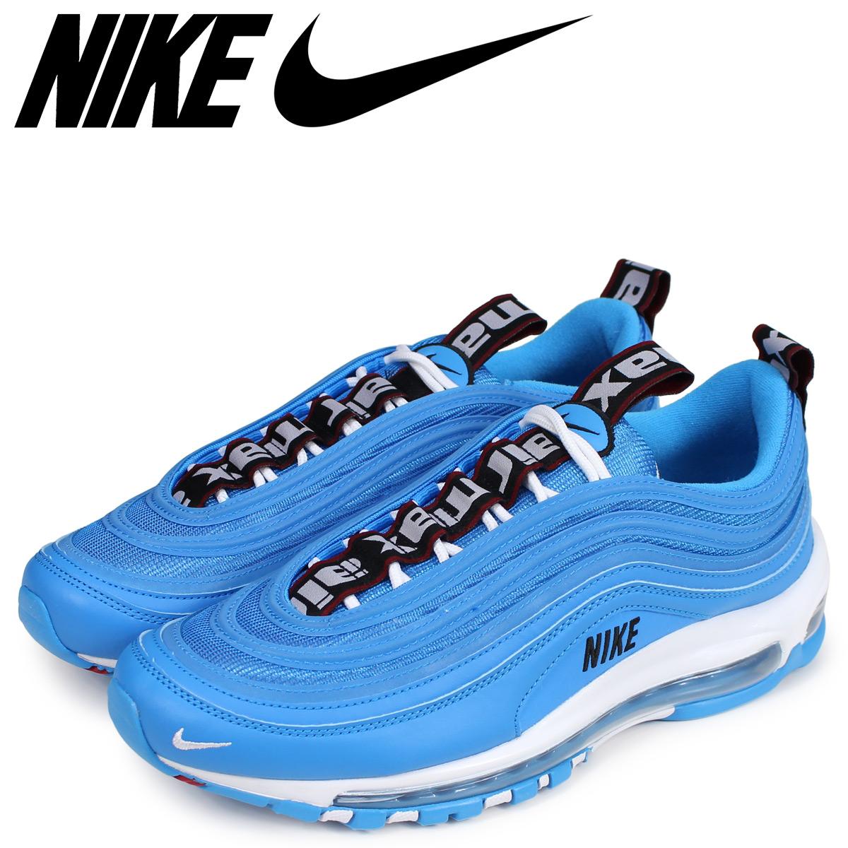 Sugar Online Shop  NIKE Kie Ney AMAX 97 sneakers men AIR MAX 97 PREMIUM blue  312 68d038966