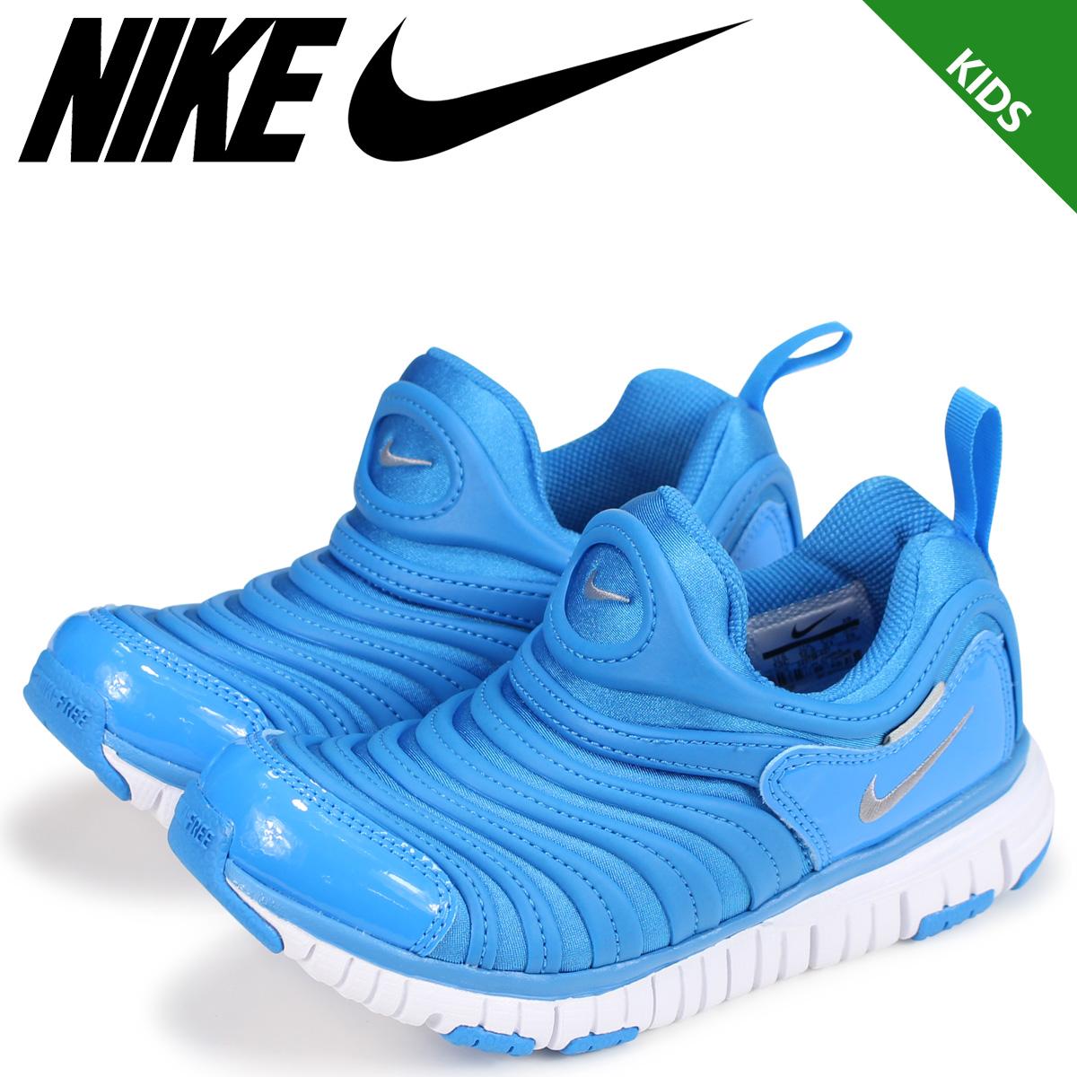 timeless design b20f9 8c91d NIKE Nike dynamo-free kids sneakers DYNAMO FREE PS 343,738-427 blue  9 ...