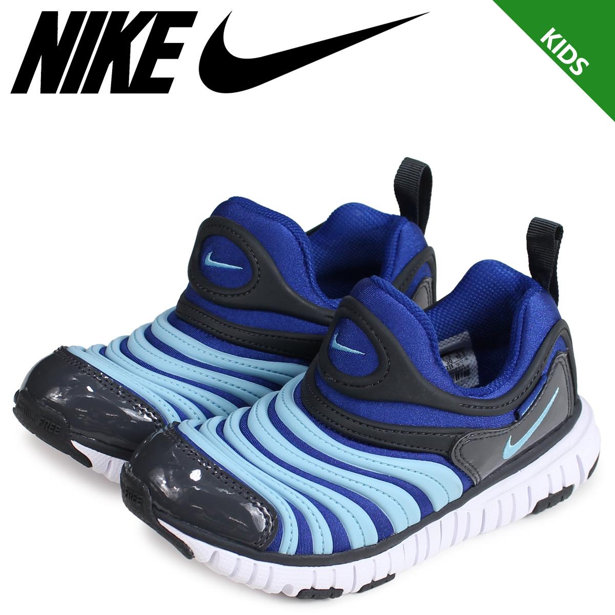 best loved f7c37 b5c38 NIKE Nike dynamo-free sneakers kids DYNAMO FREE PS blue 343,738-428  load  ...