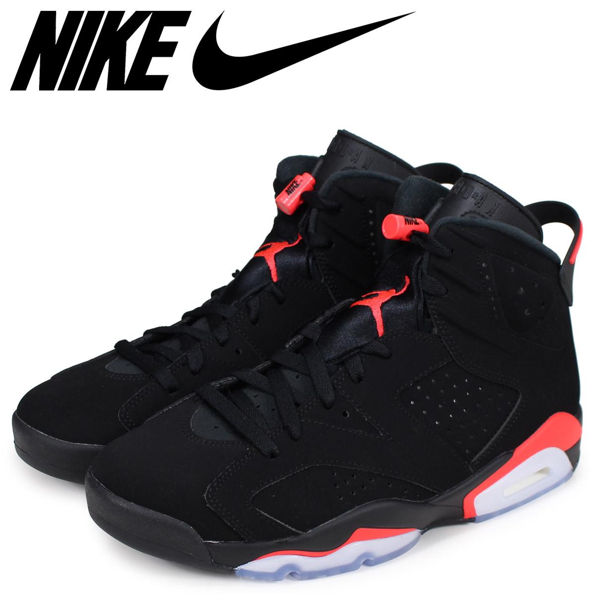 3e2cd2c3c2 NIKE Nike Air Jordan 6 nostalgic sneakers men AIR JORDAN 6 RETRO black black  infrastructure red ...