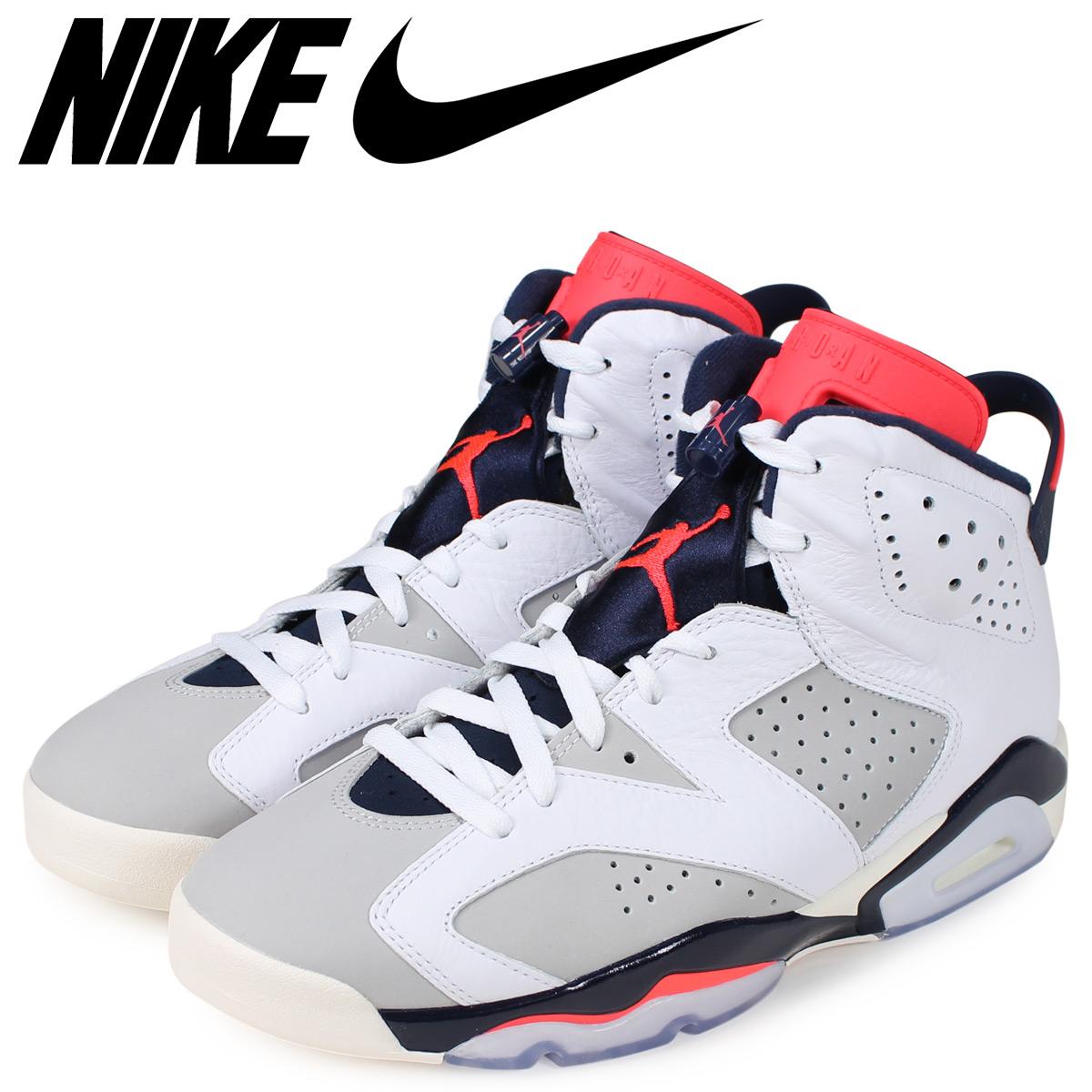 the best attitude 9e677 b325c NIKE Nike Air Jordan 6 nostalgic sneakers men AIR JORDAN 6 RETRO TINKER  white white 384,664-104