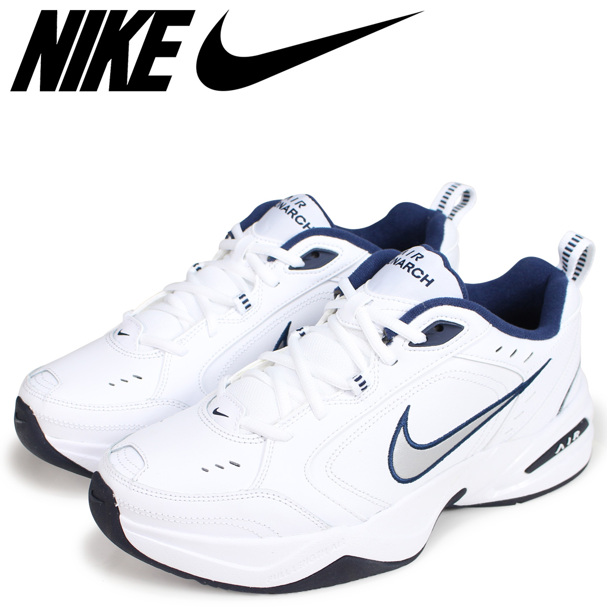 new style 57b9d 79402 NIKE ナイキエアモナーク 4 sneakers men AIR MONARCH IV DAD SHOES ダッドシューズ 415,445-102  white load planned Shinnyu load in reservation product 1015 ...