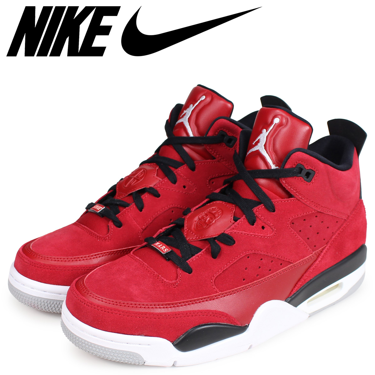 the best attitude c7d3a ba17f NIKE Nike Jordan sneakers men JORDAN SON OF LOW red 580,603-603  load  planned Shinnyu load in reservation product 12 25 containing