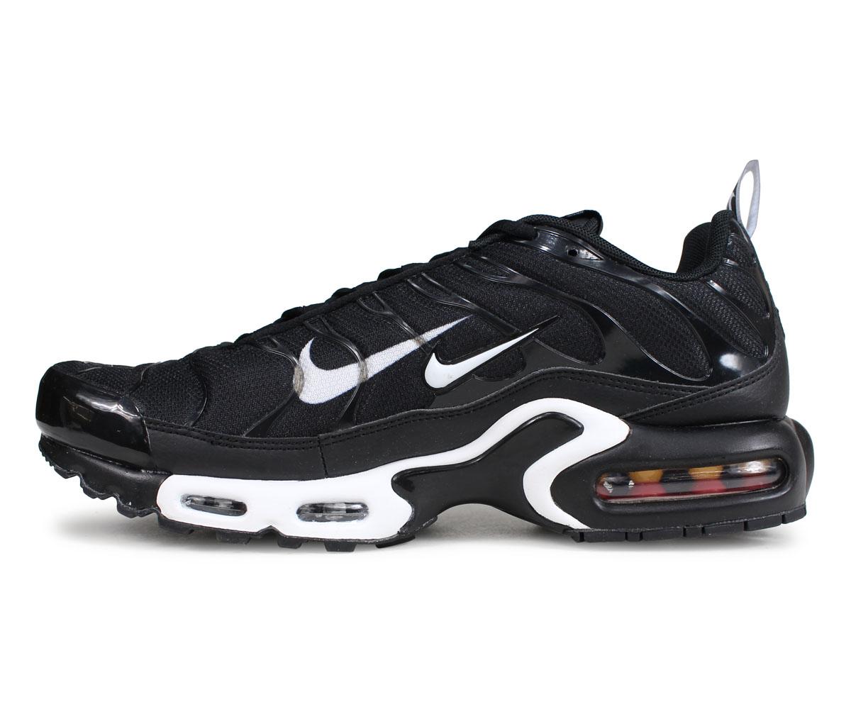 NIKE Kie Ney AMAX plus sneakers men AIR MAX PLUS PREMIUM black black 815,994 004