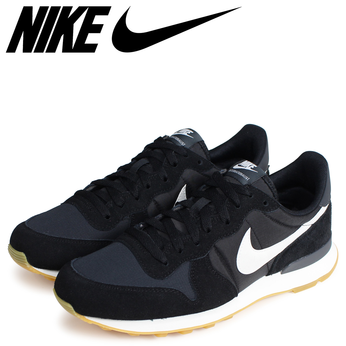 NIKE Nike internationalist sneakers men WMNS INTERNATIONALIST black black 828,407 021