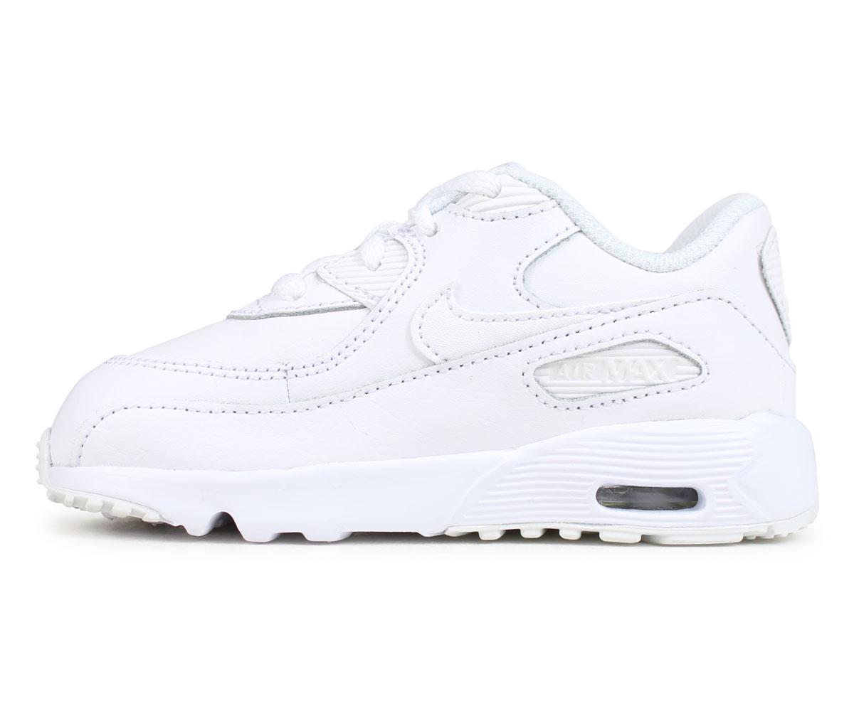 NIKE Kie Ney AMAX 90 baby sneakers AIR MAX 90 LEATHER TD 833,416 001 black black