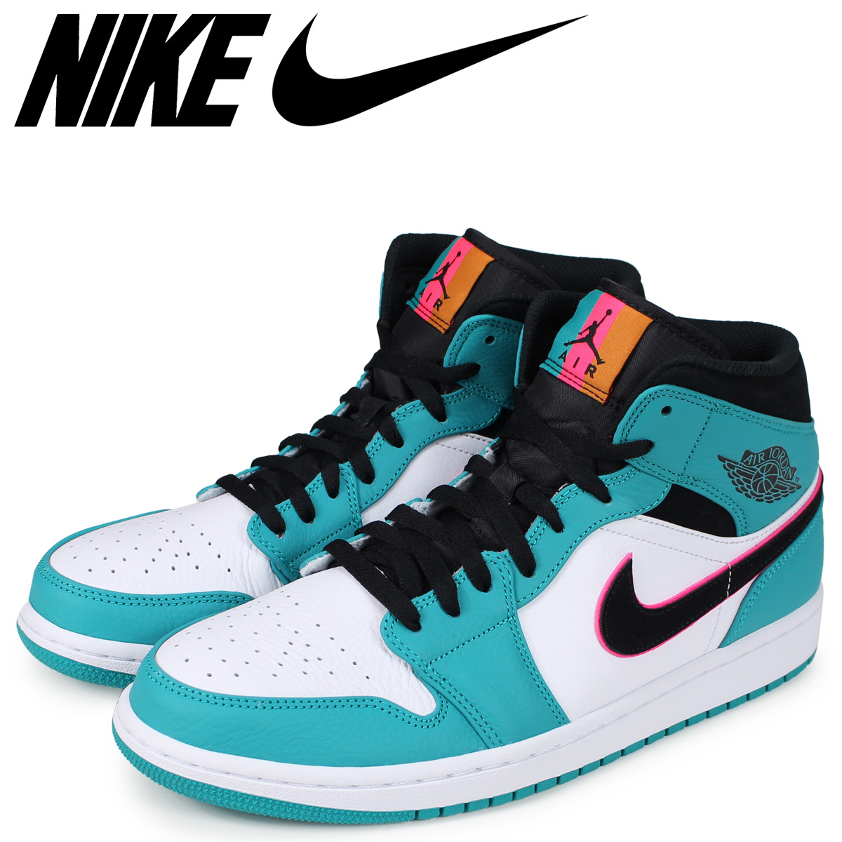 new product 7ddb5 f7a7f  brand NIKE getting high popularity from sneakers freak . A mid cut model  appears from AIR JORDAN 1 ...